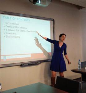 Krakow University Technology Team Effectiveness