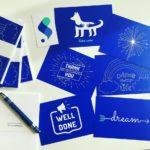 Pigment Postcards