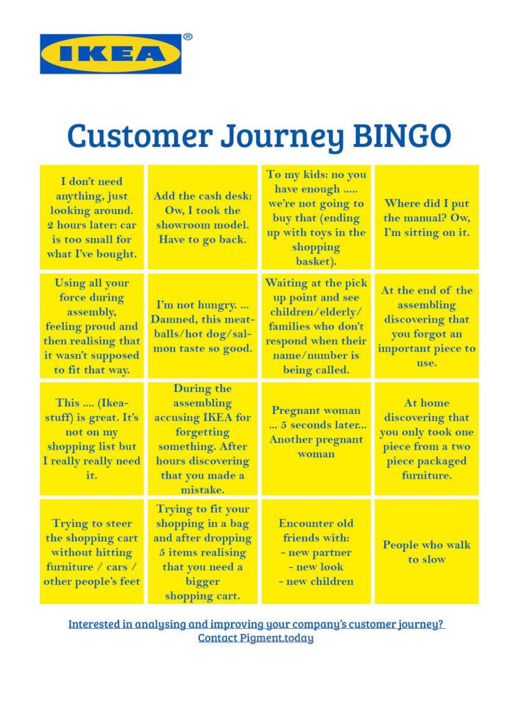 Ikea Bingo Customer Experience